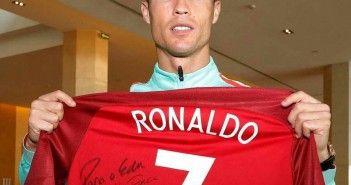 Ronaldo solidario por Edu Ferreira