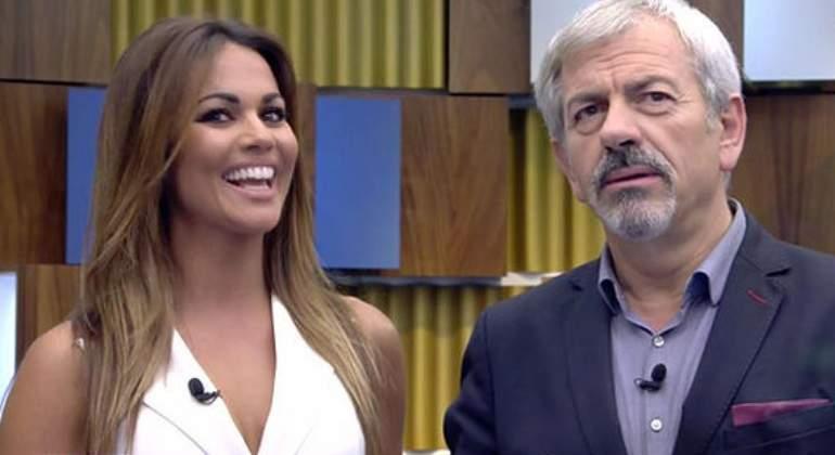 Campanadas 2017 Sobera y Lara. Telecinco