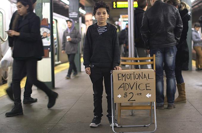El niño que ofrece sus consejos por 2 euros1