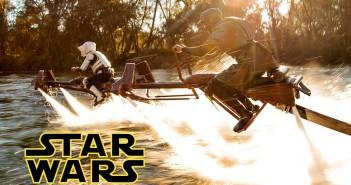 Recrean la guerra de las galaxias en el agua