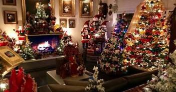 Un mes decoando su casa para Navidad