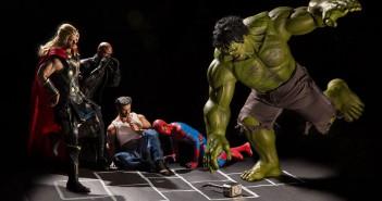 Cuando no están salvando al mundo los superheroes6