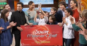 Paula gana masterChel Junior