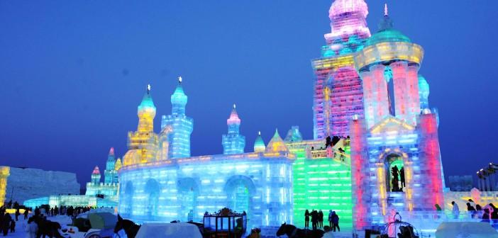 ¡El Festival Internacional de la Nieve y el Hielo!