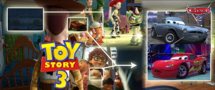 Todas las pelis de Pixar están conectadas entre ellas