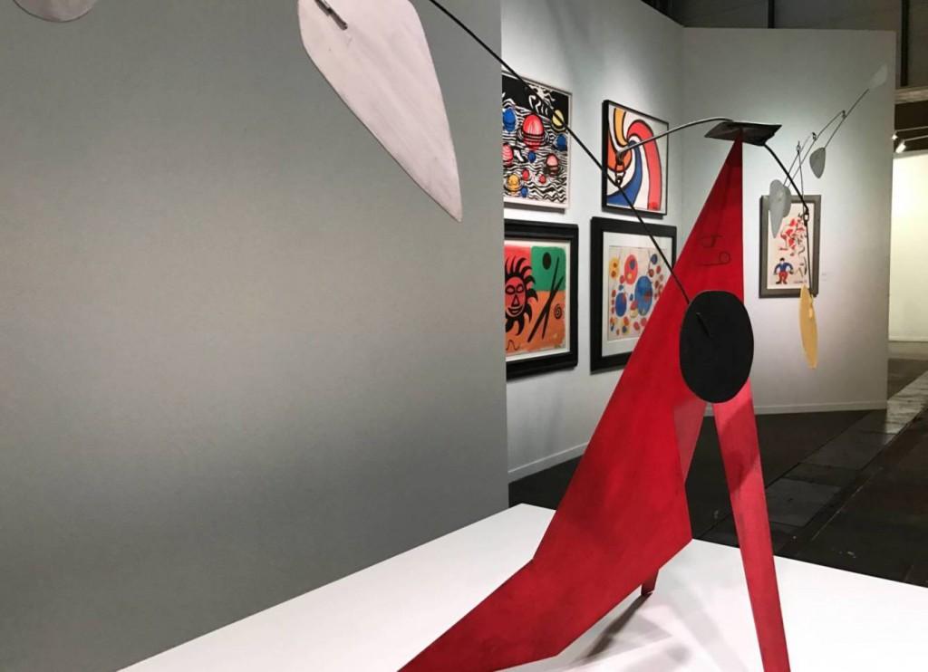 ARCO 2017-feria internacional de arte moderno-Alexander Calder The red