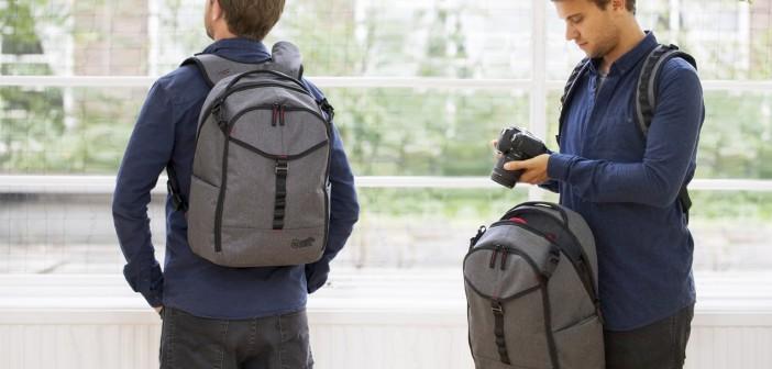 ¡La mochila más práctica y segura!