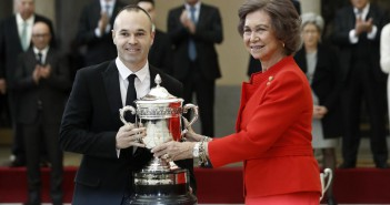 Iniesta, Premios Nacionales del Deporte