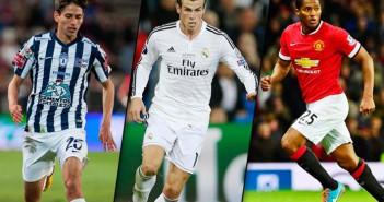 Los diez futbolistas más rápidos del mundo1