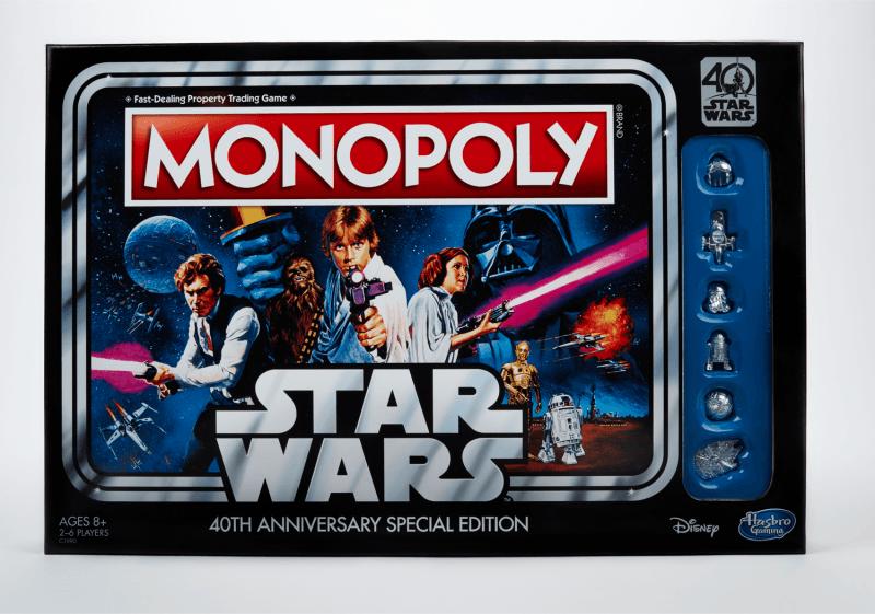 Monopoly celebra los 40 años de la Guerra de la Galaxia
