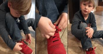 Nuevo truco para atarse los cordones