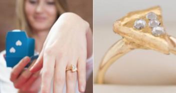 Te regalan un anillo con forma de pizza