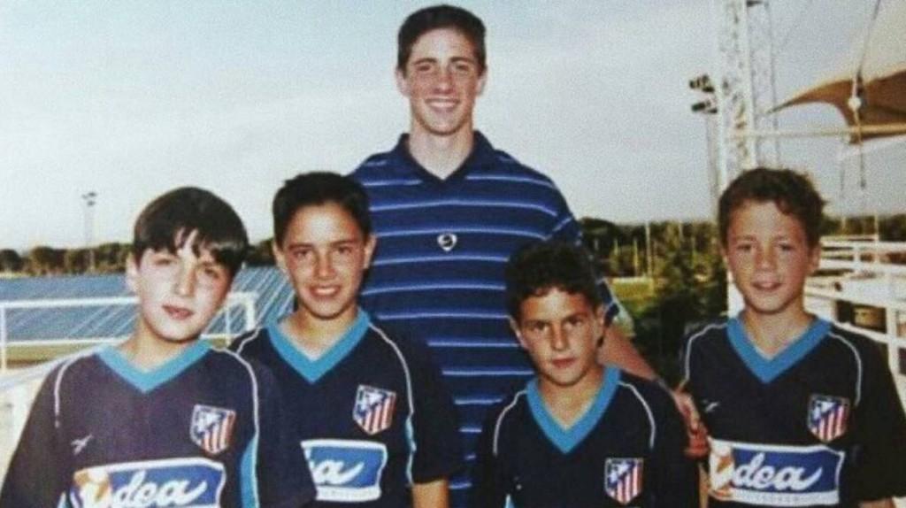 Torres y Koke. Historia de una foto
