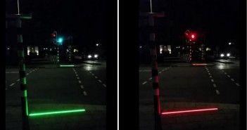 Un semáforo para los enganchados al móvil