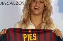 Shakira y el Barcelona juntos