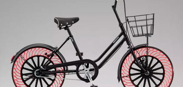 Bicis con ruedas sin aire