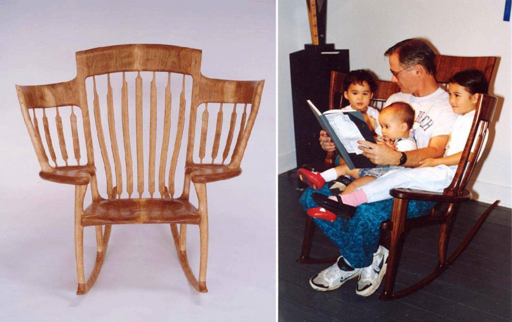 La silla para leer en familia