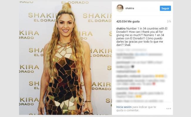 shakira_el_dorado_numero-uno-en-34-paises