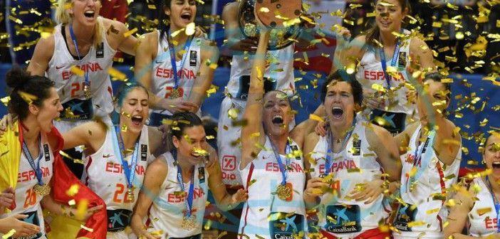 ¡¡La selección femenina de baloncesto campeonas de Europa!!