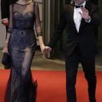 Xavi Hernández y Nuria Cunillera