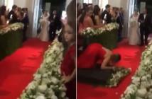 invitada-se-cae-boda-mirando-grabando-novia