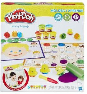 Letras y lenguaje Play Doh concurso