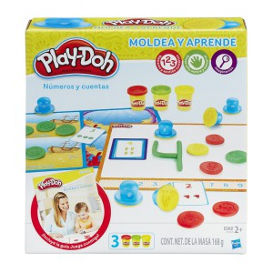 Numeros y cuentas Play Doh concurso