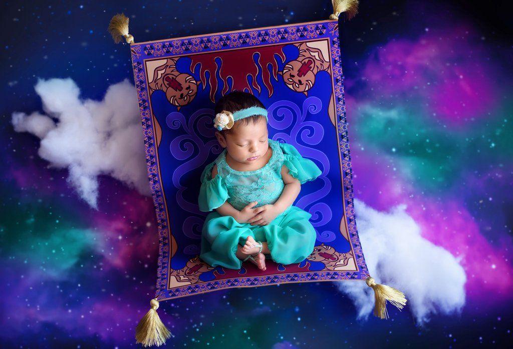 foto-bebé-princesa-jasmine-aladdin-disney