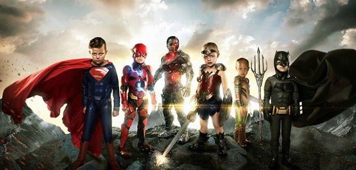 Los auténticos superhéroes de <i>La Liga de la Justicia</i>