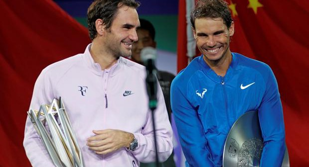 Nadal cae ante Federer en Shangai