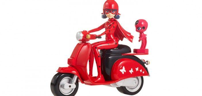 ¿Quieres llevarte la moto de LadyBug?