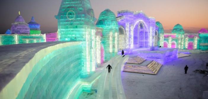 ¡El mayor parque de hielo y nieve del mundo!