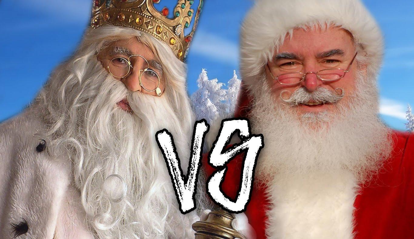 Fotos Papa Noel Reyes Magos.Los Ninos Espanoles Prefieren A Los Reyes Magos Que A Papa