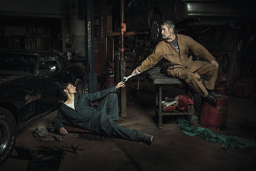 Los-mecanicos-que-recrean-pinturas-renacentistas(2)