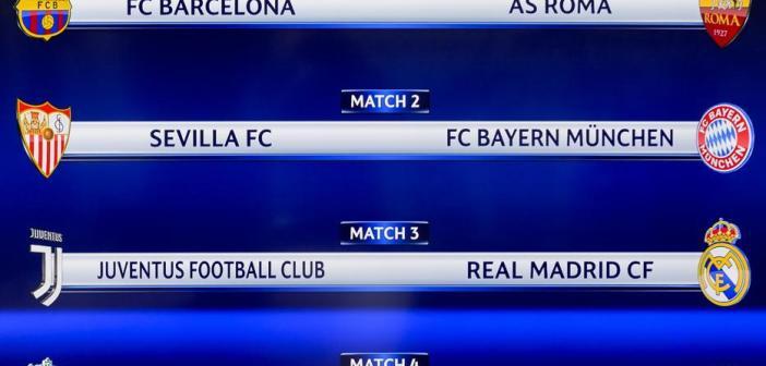 ¡Tres equipos españoles en los cuartos de final de la Champions!