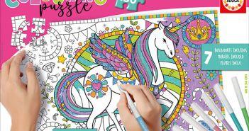 Concurso el gancho Puzzle Unicornio