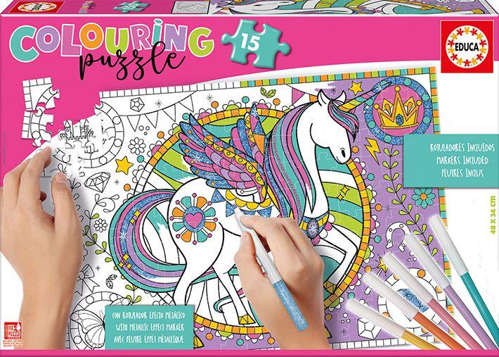 Concurso el gancho Puzzle Unicornio_diferencias