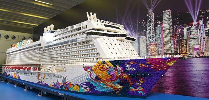 El barco de Lego más grande del mundo
