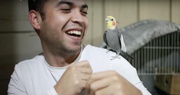 ninfa-y-dueno-haciendo-beatbox