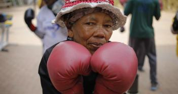 las abuelas boxeadoras