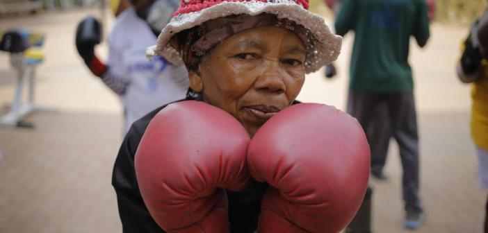 ¡Las abuelas boxeadoras!