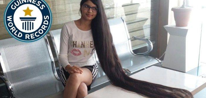 Nuevo récord del pelo más largo del mundo
